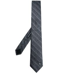 Alexander McQueen - Safety Pin Printed Tie - Lyst