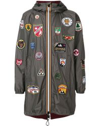 DSquared² - Patch Military Duffle Coat - Lyst