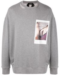 N°21 - Polaroid Picture Sweater - Lyst