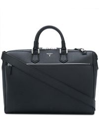 Serapian - Logo Plaque Briefcase - Lyst