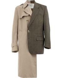 Andrea Crews - Trench Coat Blazer - Lyst