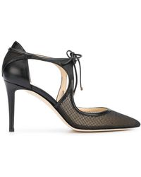 Jimmy Choo - Mesh Vanessa 85 Court Shoes - Lyst
