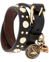 Alexander McQueen - Studded Cuff Bracelet - Lyst