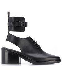 Ann Demeulemeester - Cut Out Detailed Boots - Lyst
