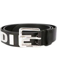 DIESEL - Classic Buckle Belt - Lyst