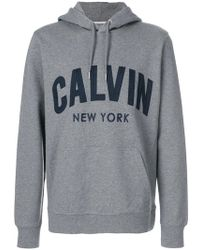 Calvin Klein Jeans - New York Logo Hoodie - Lyst