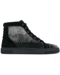 Louis Leeman - Embellished Hi-top Sneakers - Lyst