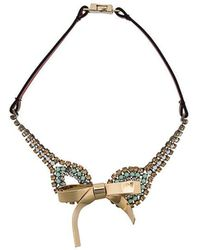 Marni - Bow Necklace - Lyst