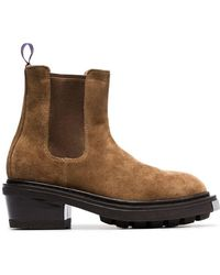Eytys - Brown Nikita Suede Leather Boots - Lyst