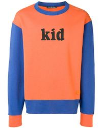 Acne Studios - Colourblocked Sweatshirt - Lyst