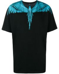 Marcelo Burlon - Placement Prined Bird T-shirt - Lyst