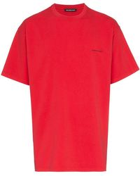 Balenciaga - Oversized Copyright Logo T-shirt - Lyst