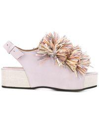 Minimarket - 'plateau' Sandals - Lyst