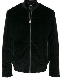 Billionaire - Quilted Bomber Jacket - Lyst