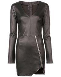 RTA - Katherina Mini Dress - Lyst