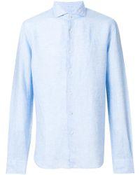 Xacus - Plain Shirt - Lyst