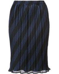 Alexander Wang - Striped Skirt - Lyst