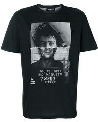 Neil Barrett - Printed T-shirt - Lyst