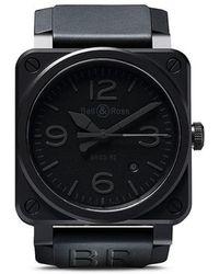99f3b7ca7876 Bell   Ross - Reloj BR 03-92 Phantom Ceramic - Lyst