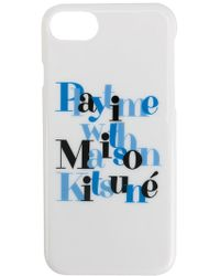 Maison Kitsuné - Printed Iphone 7 Case - Lyst