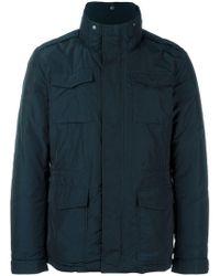 Woolrich - Padded Field Jacket - Lyst
