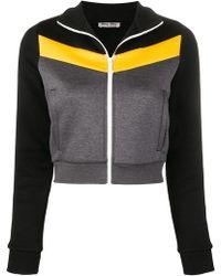 aae39e0ce61d Miu Miu Wool Short Vest in Black - Lyst