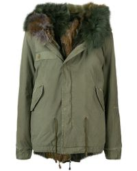Mr & Mrs Italy - Fur-trim Hooded Parka - Lyst