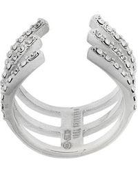 FEDERICA TOSI - Embellished Cuff Ring - Lyst
