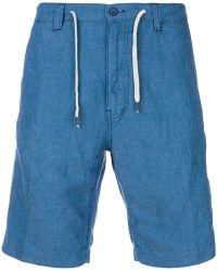 Aspesi - Chambray Shorts - Lyst