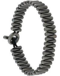 M. Cohen - Beaded T-bar Bracelet - Lyst