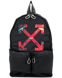 Off-White c/o Virgil Abloh - Arrows Print Backpack - Lyst