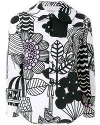 Junya Watanabe   Cartoon Print Shirt   Lyst