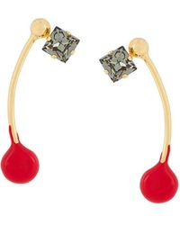Marni - Embellished Earrings - Lyst