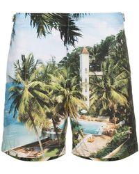 Orlebar Brown - Bulldog Resort Print Swim Shorts - Lyst
