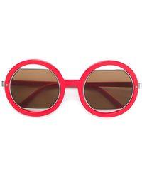 Marni Eyewear - Round Frame Sunglasses - Lyst