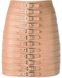 Manokhi - Multi Belted Skirt - Lyst