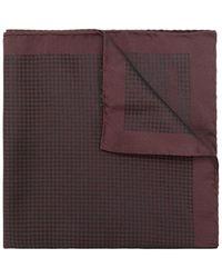 Pal Zileri - Houndstooth Printed Handkerchief - Lyst