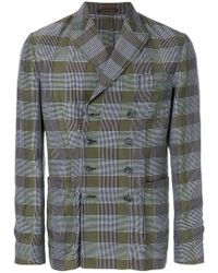 The Gigi - Checked Straight-fit Jacket - Lyst