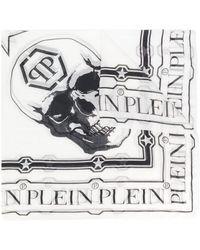 Philipp Plein - Skull Print Scarf - Lyst