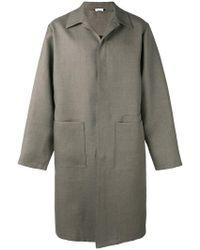 Jil Sander - Single-breasted Coat - Lyst
