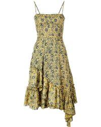 10 Crosby Derek Lam - Cami Dress With Asymmetrical Hem - Lyst