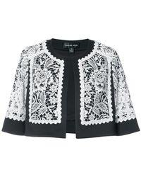 Tadashi Shoji - Lace Embroidered Cropped Jacket - Lyst