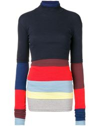 Y. Project - Layered Multi-panel Knitted Top - Lyst