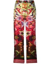 F.R.S For Restless Sleepers - Aztec Printed Trousers - Lyst
