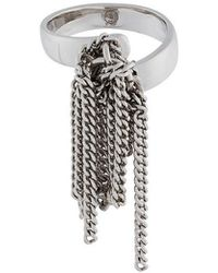 MM6 by Maison Martin Margiela - Chained Ring - Lyst