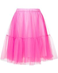 P.A.R.O.S.H. - Tulle Skirt - Lyst
