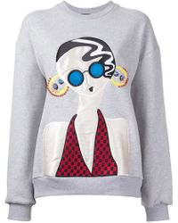 Holly Fulton - Lady Patch Sweatshirt - Lyst