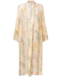 Forte Forte - Plants Print Kimono Coat - Lyst