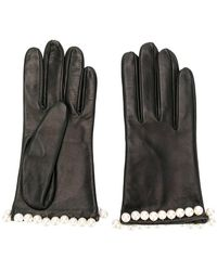 Manokhi - Pearl Embellished Gloves - Lyst