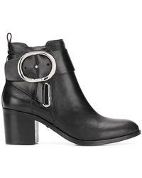 DKNY - Stivali con fibbie - Lyst